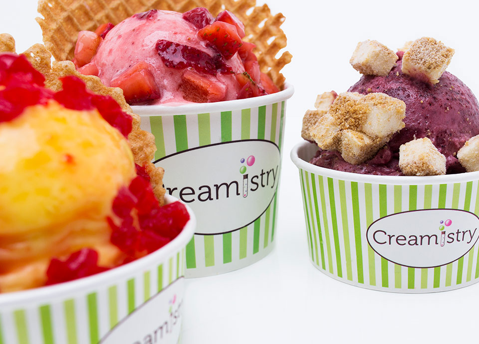 Creamistry Nitrogen Liquid Ice Cream