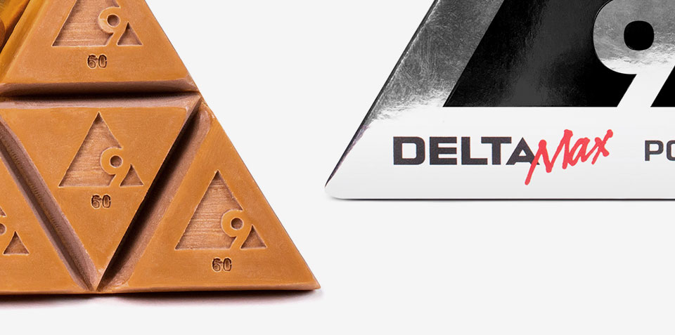Delta9 logo on an edible