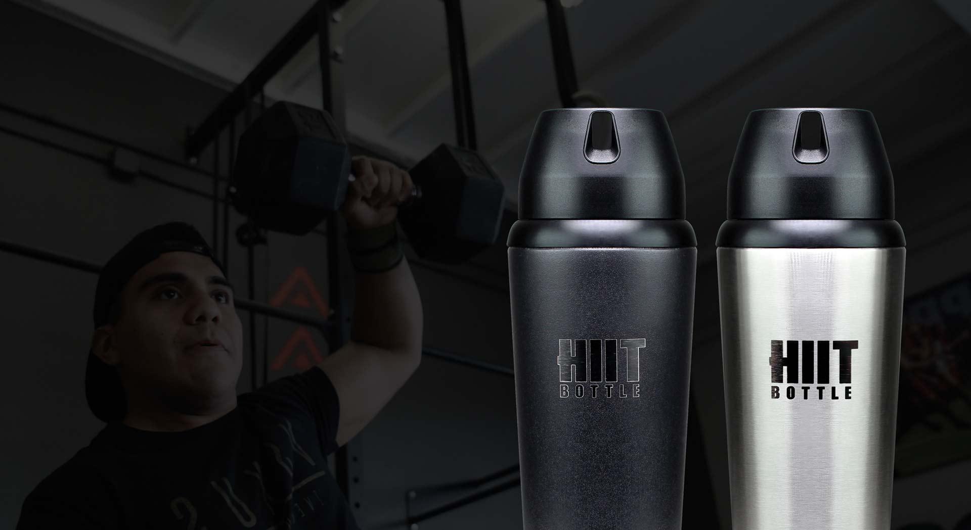 HIIT Bottle Protein Shaker Bottles