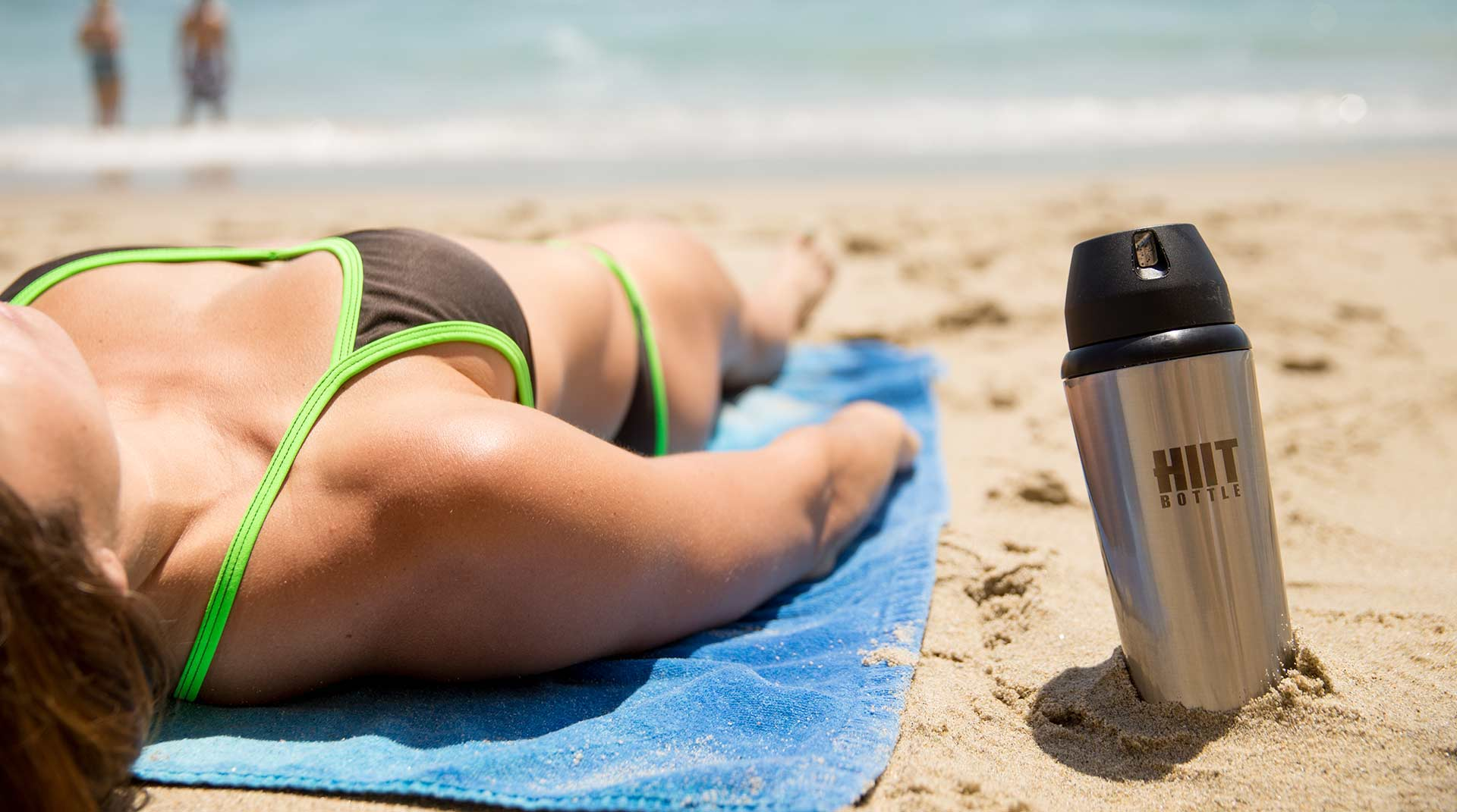 HIIT Bottle on the Beach