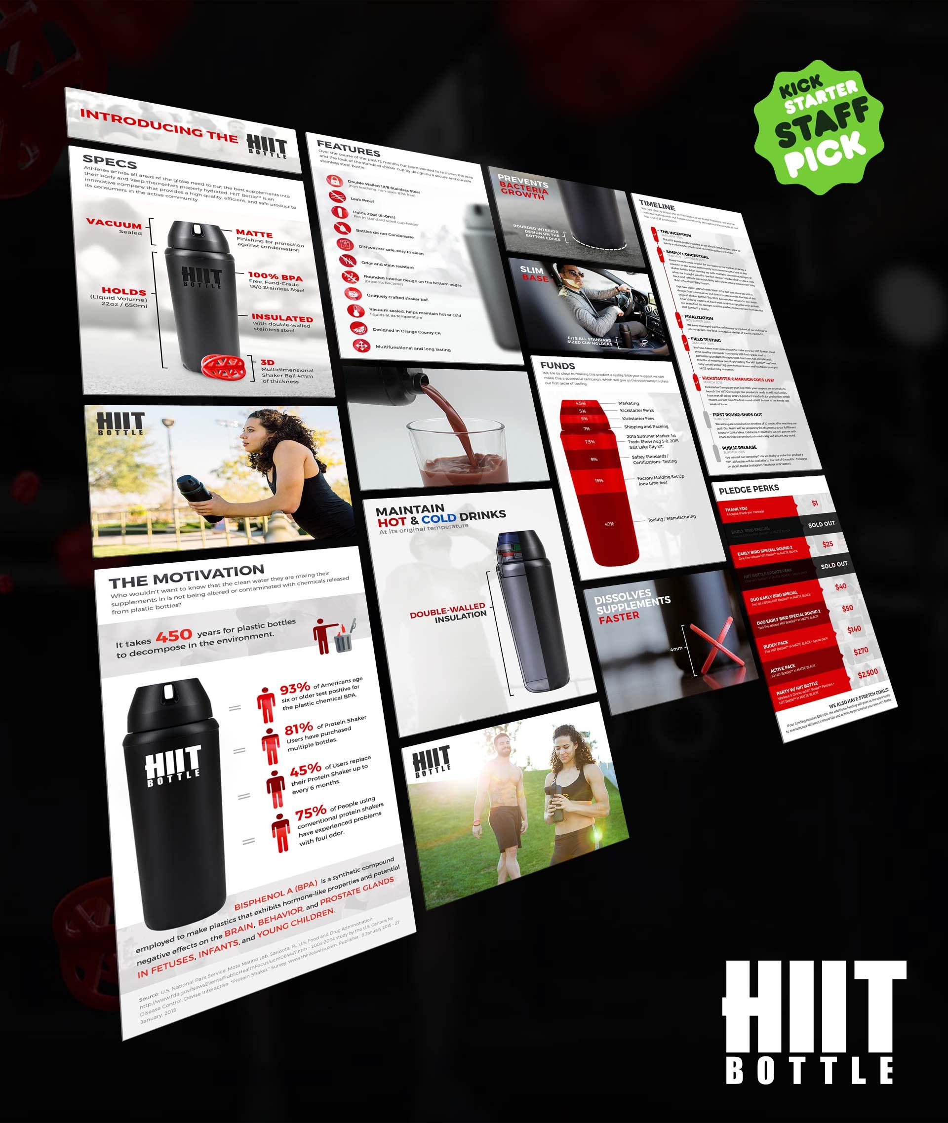 HIIT Bottle Kickstarter Campaign