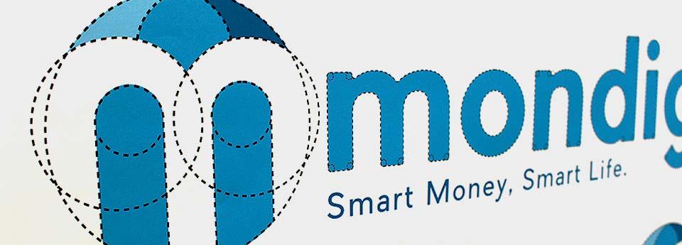 Mondigi Logo Execution