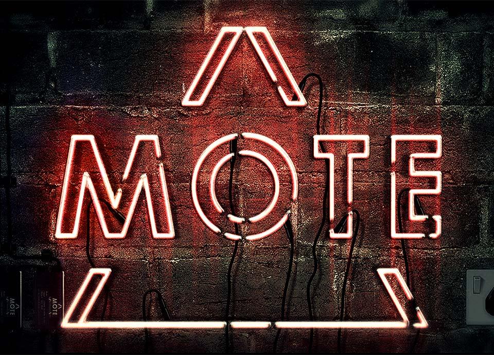 Mote Sign