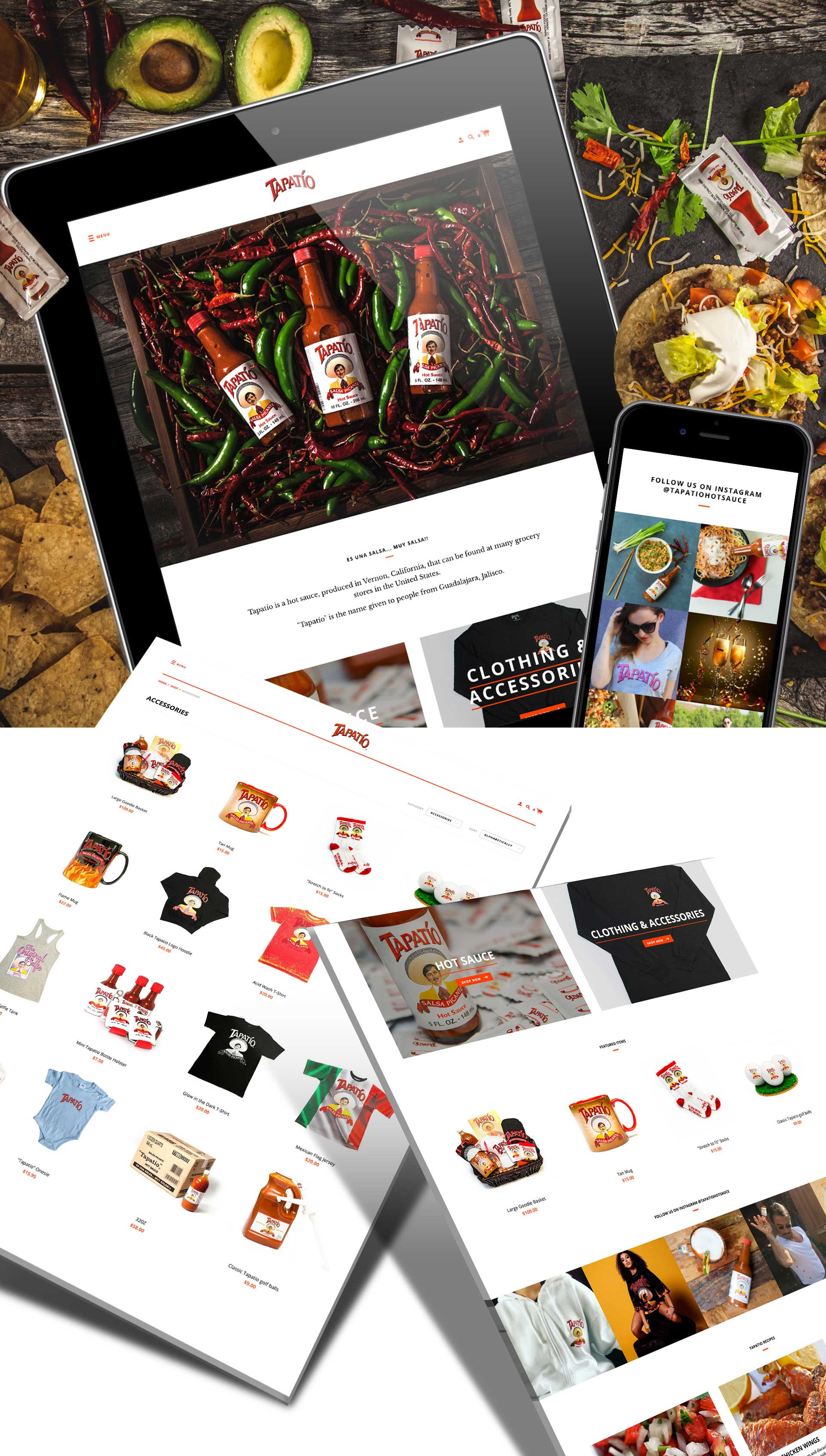 Tapatio New Website