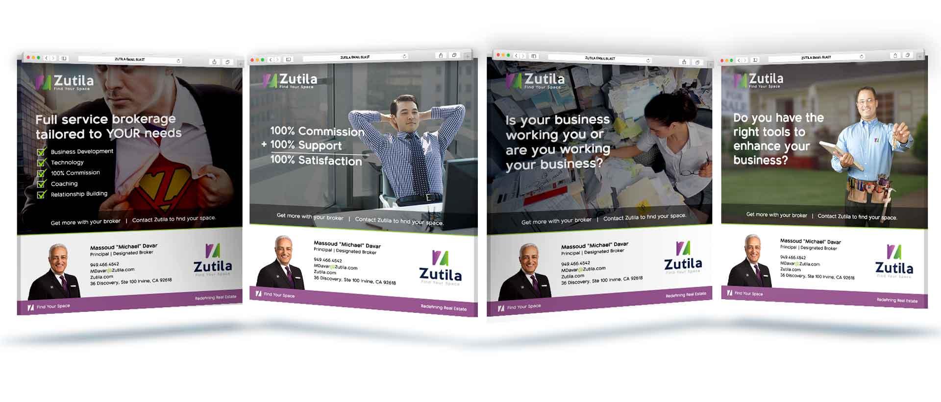 Zutila Email Blast Campaigns